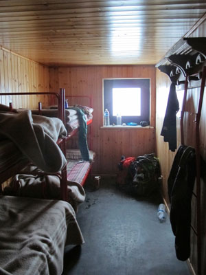 An Alpine dorm room