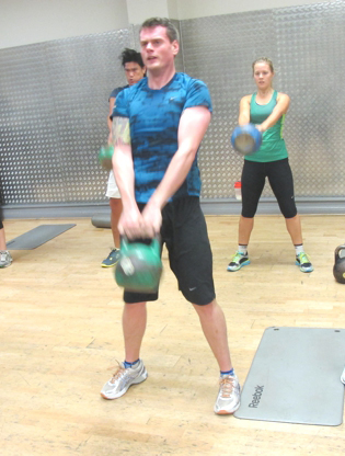 Kettlebells with Fitter London