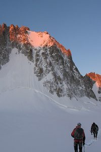 An amazing climb from last year, the North Face of the Tour Ronde