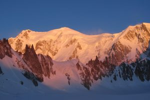 Mont Blanc, and adventurer's Mecca