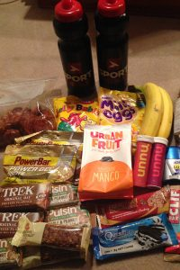 Nutrition for running London to Brighton