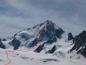 The Migot Spur, in red