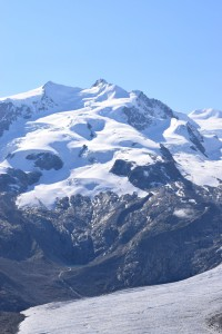 The Dufourspitze, 4638m