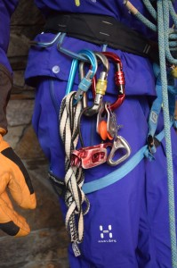Some of our glacier safety gear