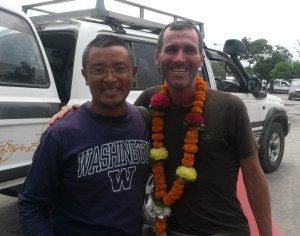 Dorjee and Seth of Wide Open Vistas