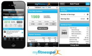 MyFitnessPal, a very useful app fro really knowing what you eat.