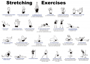Stretching exercises courtesy of Consistency Is Key