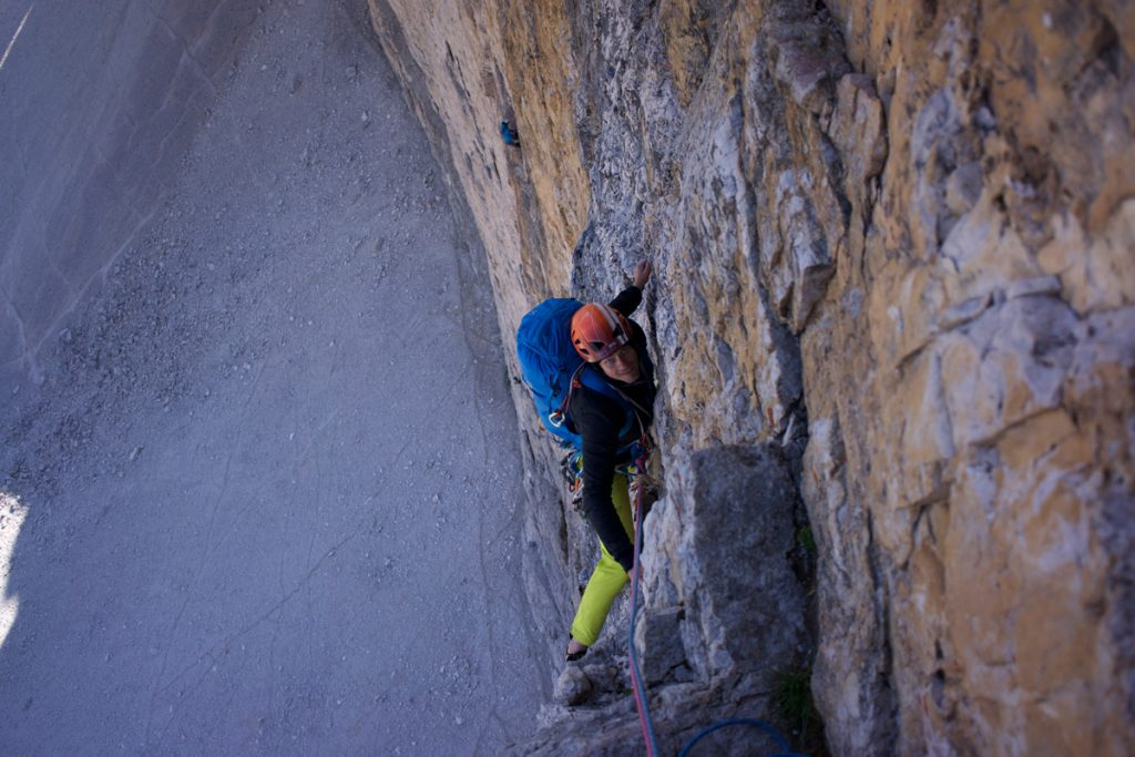 Steep and sustained climbing. Photo © Tim Howell