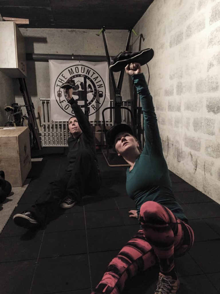 Kettlebell and Turkish Get Up drills