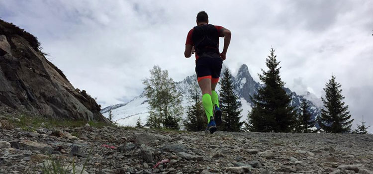 Running in Chamonix