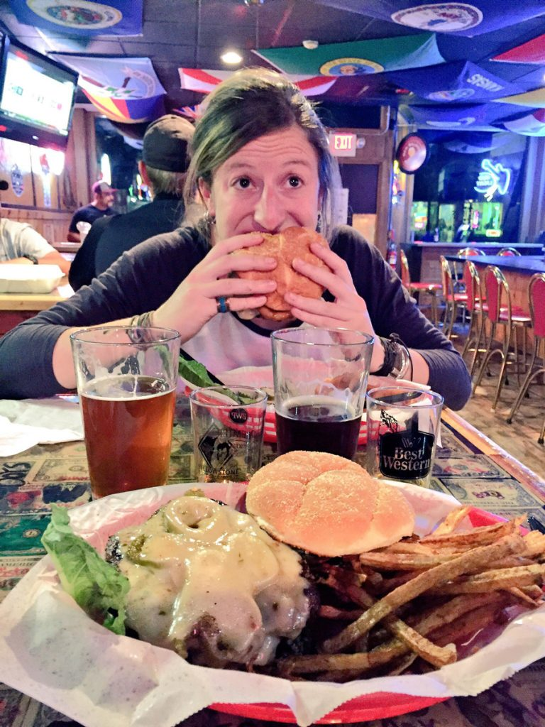Beer, bourbon and burgers