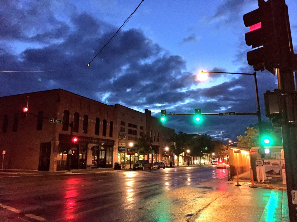Bozeman at dawn