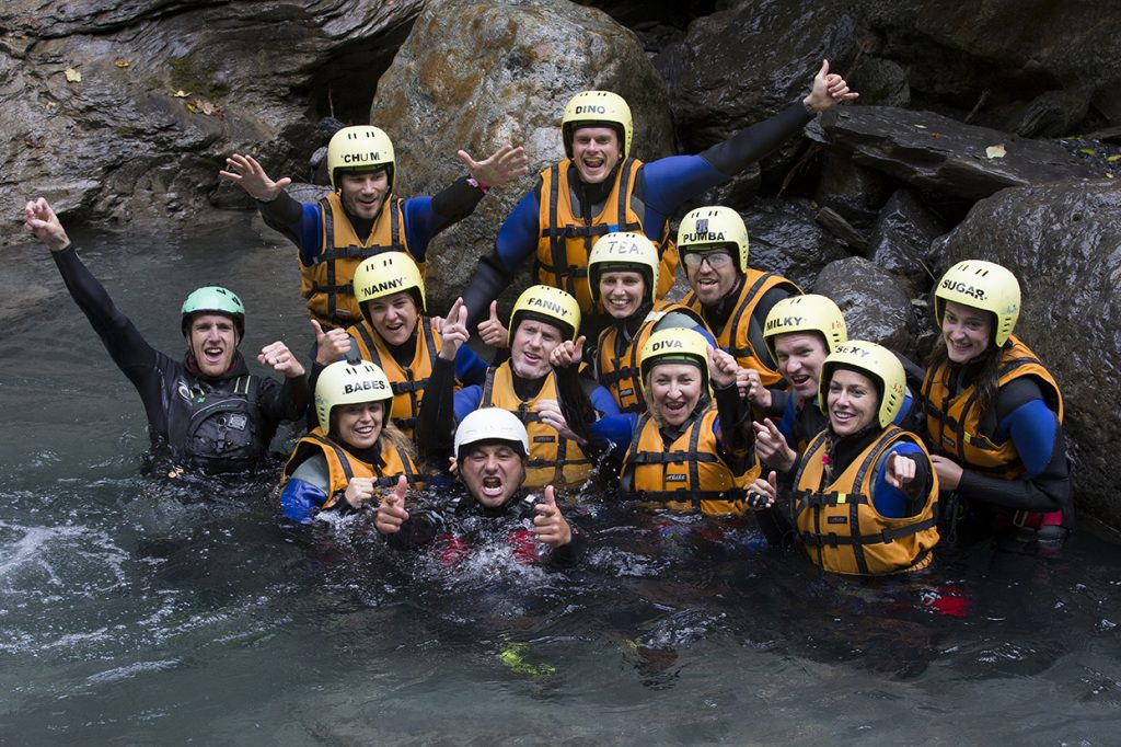 1, 2, 3 CANYONING photo Cat Vinton